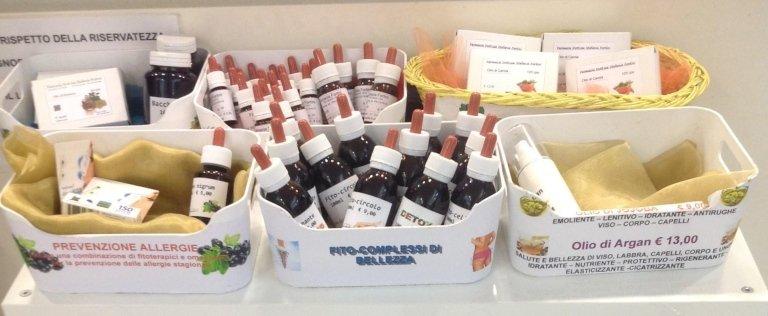 preparazioni galeniche, prodotti omeopatici, cosmesi naturale, fitoterapia, fito cosmetici, Viterbo