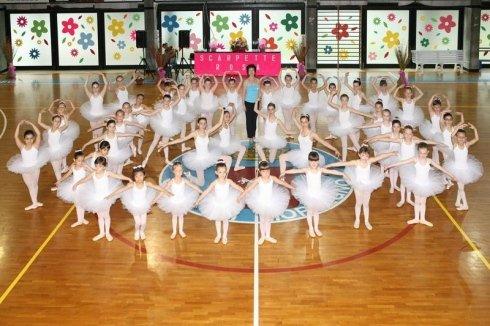palestra, balletto classico