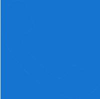 phone symbol blue