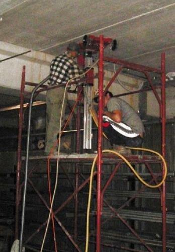 Impiego della carottatrice nei consolidamenti strutturali