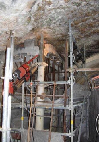 """Intervento per ripristino e consolidamento dell'altare sinistro presso la Grotta dell'Arma """"S.S. dell'Annunciazione"""""""