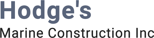 Hodge Marine Construction logo