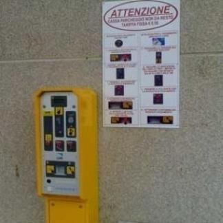 Cassa automatica per parcheggio