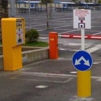 Ingresso parcheggio automatico