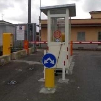 Uscita parcheggio automatico