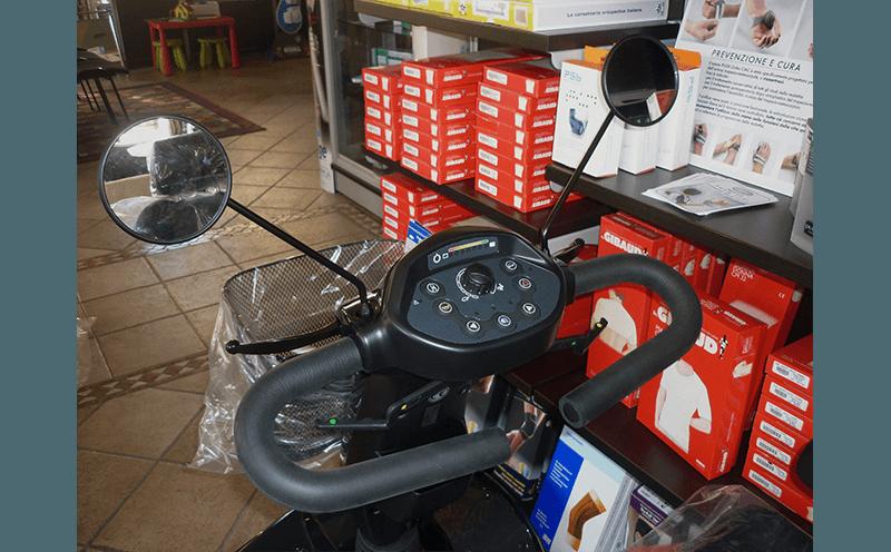 comandi scooter elettrico