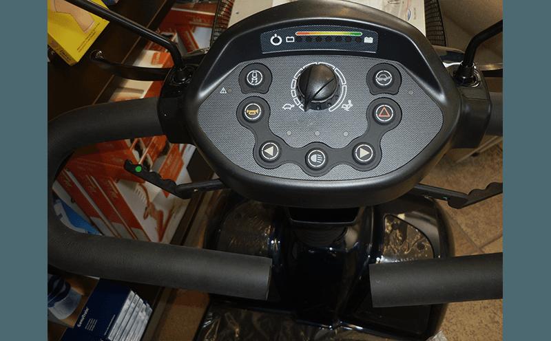 manubrio scooter elettrico