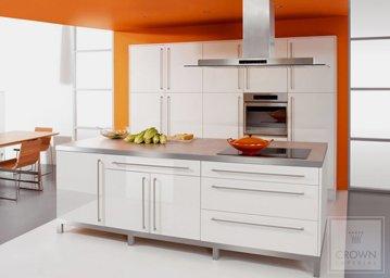 orange and white rialto kitchen