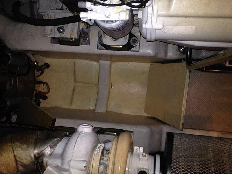 rimessaggio pulizia sala macchine
