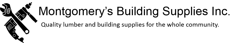 Montgomery's Building Supplies Inc. logo