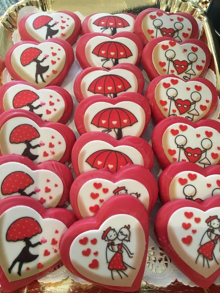 dolcetti a forma di cuore