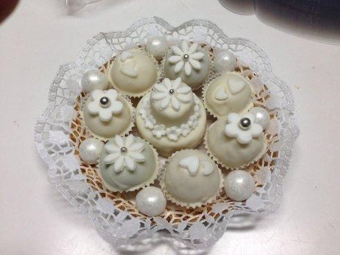 bomboniere a forma di muffin