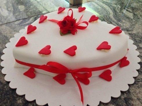 torta a cuore