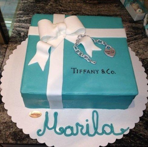 torta Tiffany&co