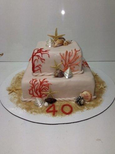 torta per il 40esimo compleanno