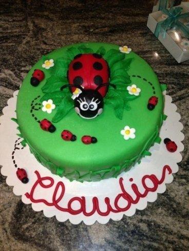 torta per il compleanno di Claudia
