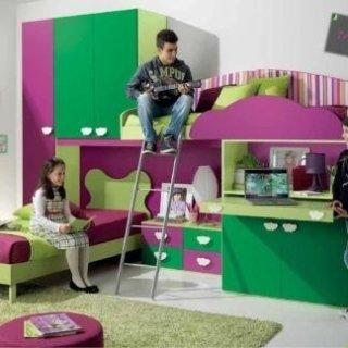 Camerette, camere per ragazzi, Camerette Valentini, Aquapendente, Viterbo