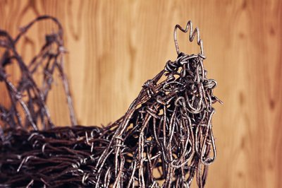 barb wire  art