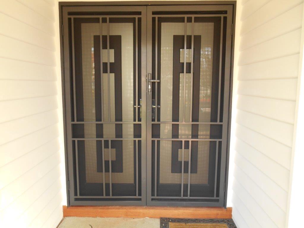 Multifit Security Doors Apollo Double Doors Design Melbourne & Gallery