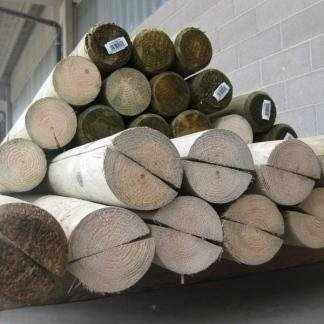 Profili in legno pino impregnati in autoclave