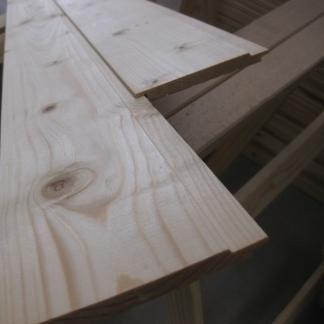 Perline e listoni in legno abete e pino