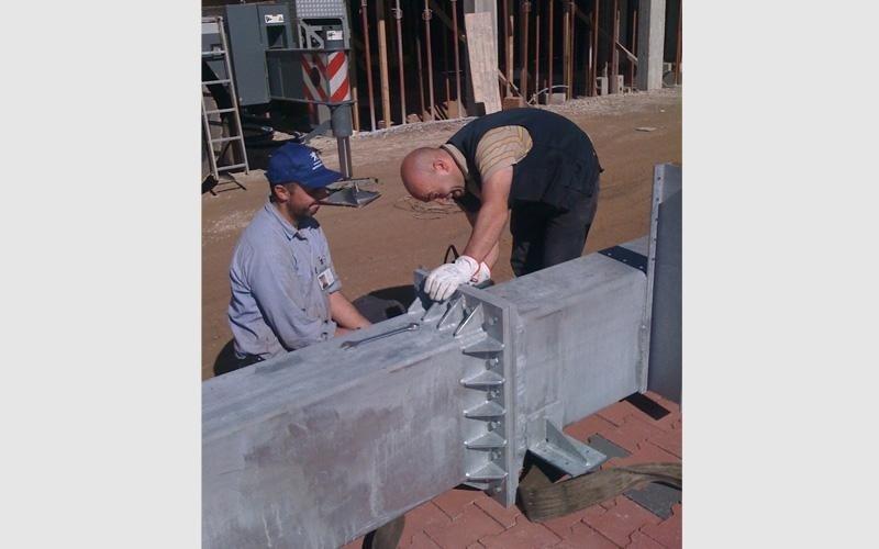 Lavori di carpenteria medio pesante