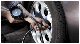 Il controllo della pressione degli pneumatici auto