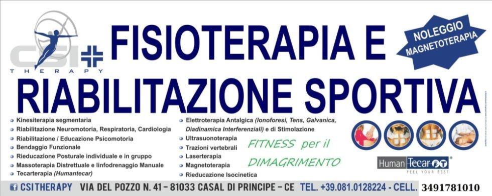 fisioterapia e riabilitazione sportiva