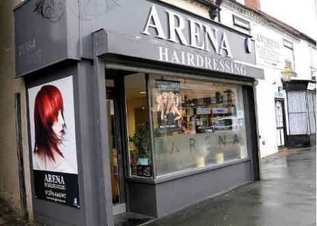 Arena hairdressing boards