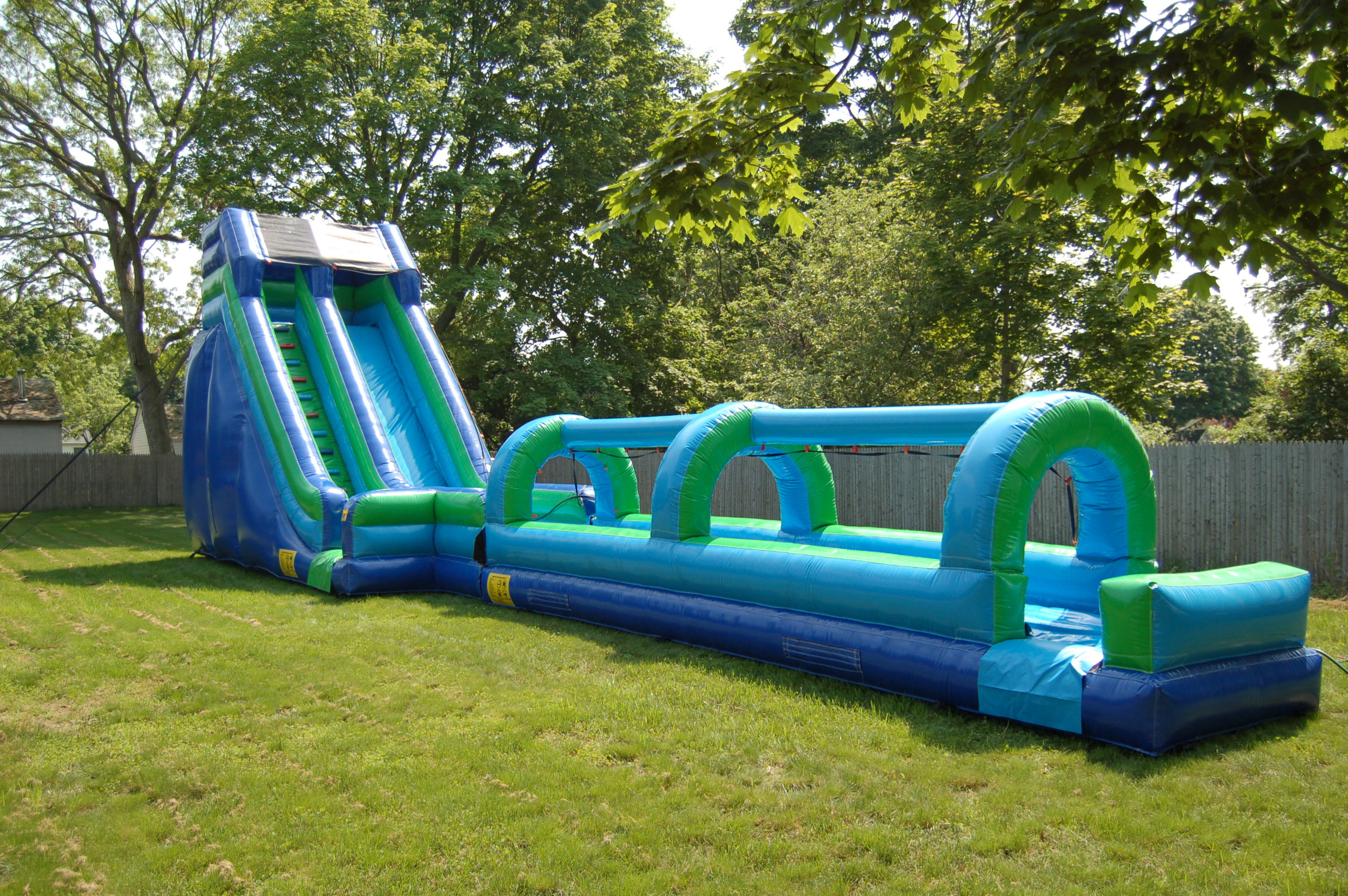 23 foot water Slide with Slip n Slide