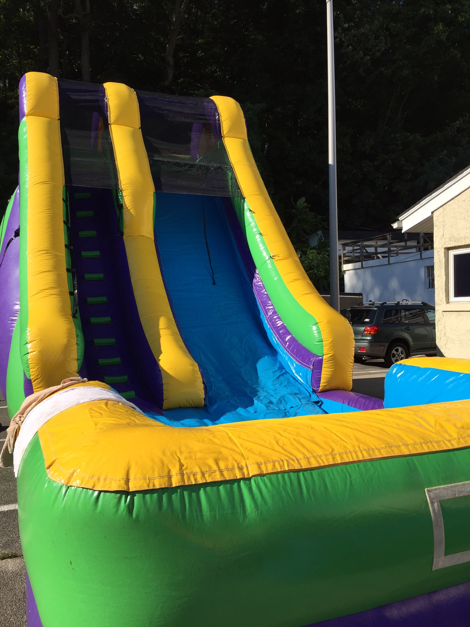 23 Foot Wet/Dry Inflatable Slide