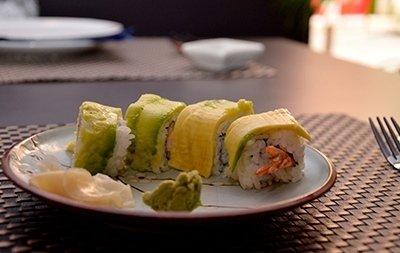 Ristorante sushi Chiaki piatto 20