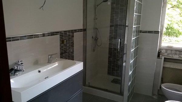 Riscaldatore in un bagno a Ravenna