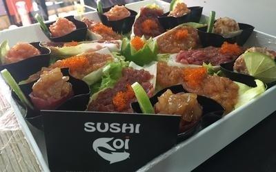 preparazione sushi ad aosta