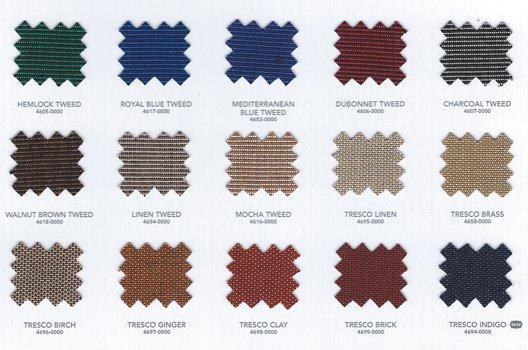 Sunbrellla colors for our Swim Spa Covers 02