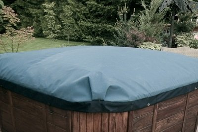 Swim Spa Cover in Blue/Blue