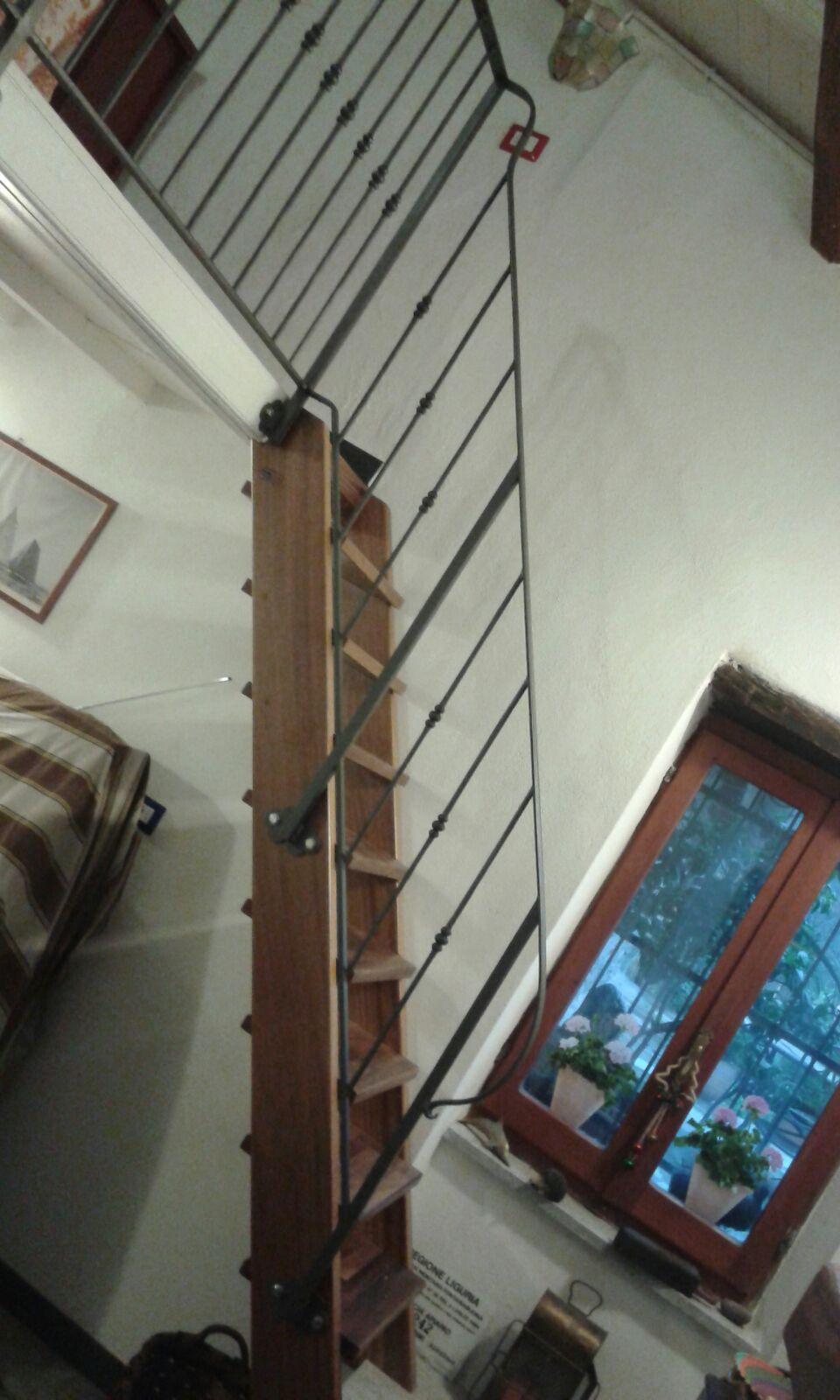 scala interno in legno