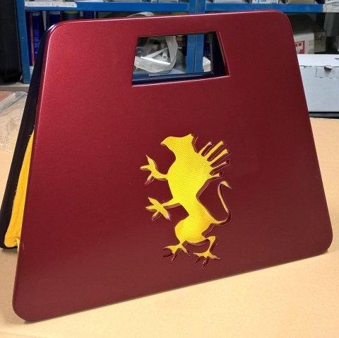 borsa Genoa rossa