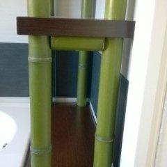 scaffali, scaffali in bambù