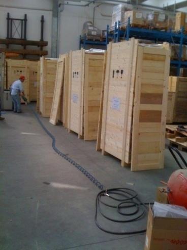 imballaggi da esportazione