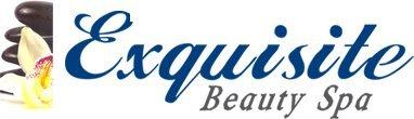 exquisite beauty spa company logo