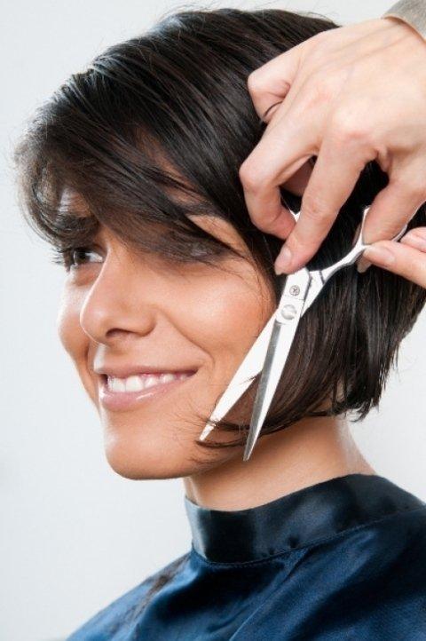 taglio, taglio di capelli, taglio moda