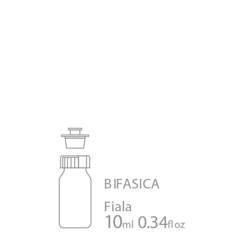 Biphasic vial