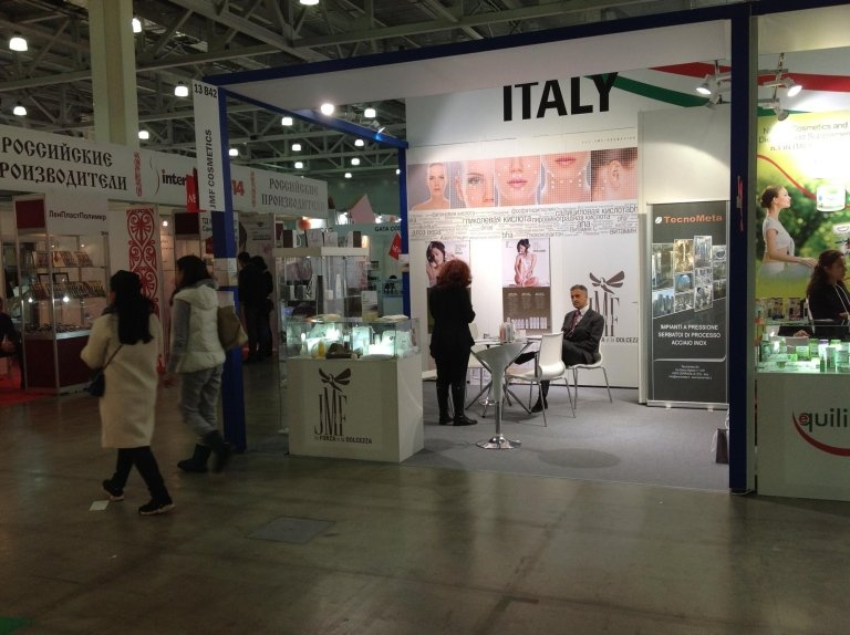 Trade fair in Moscow JMF