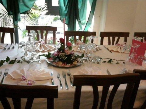 Allestimento per cerimonie, ristorante, pizzeria la fiaba, Ischia di castro