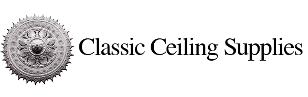 classic ceiling supplies business logo