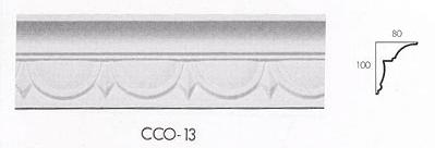 cco 13 modern egg and dart cornice