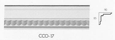 cco 17 small flute cornice