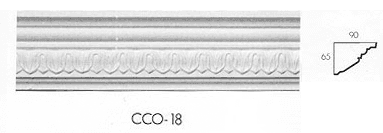 cco 18 small leaf cornice