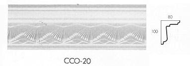 cco 20 small shell cornice